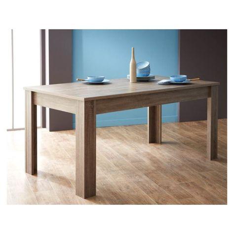 HABITAT ET JARDIN Table repas Steen - 170 x 90 x 77 cm ...