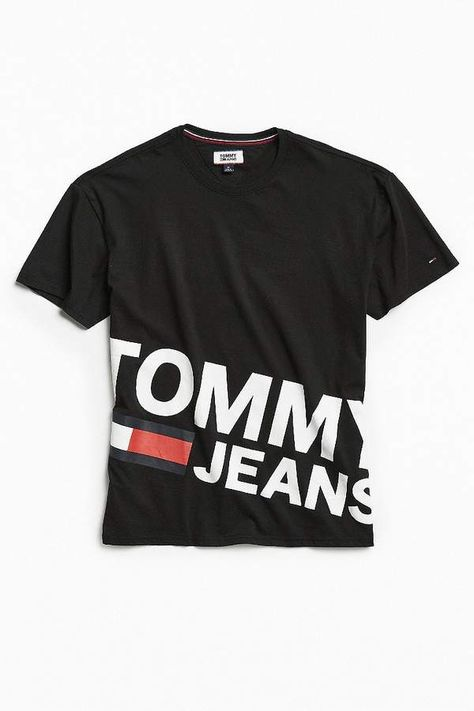Tommy Jeans Essential Magnified Logo Tee Ropa Camisetas Y Playeras