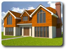 A Timber Frame Kit For A 231 Square Metre House From Vision Development Of  Berkshire Is Priced At
