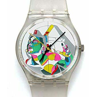Swatch Schmid Muller swatch or gold Swatch prototypes