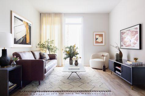 Serene Modern Sunlit Living Room