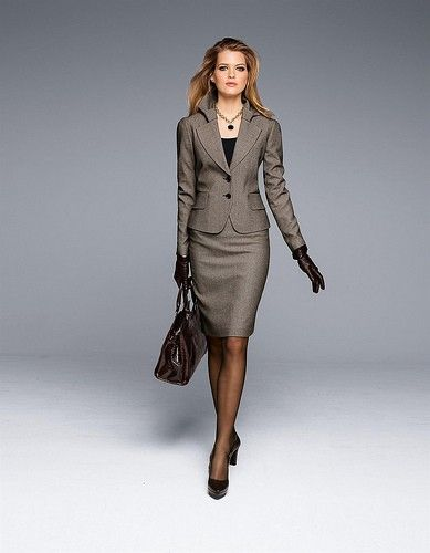 kostüm damen business schwarz