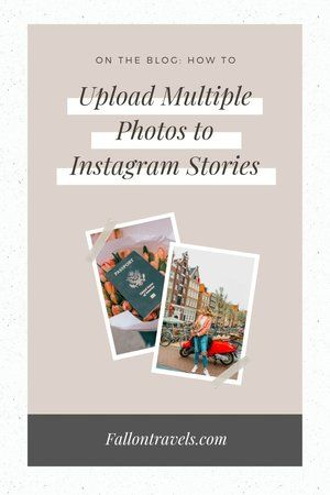 How To Add Multiple Photos In One Insta Story Multiple Images On Instagram Story Insta Hacks Youtube Instagram Story Insta Story Instagram