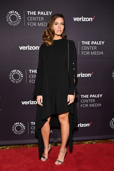 Mandy Moore attends the 2018 Paley Honors at Cipriani Wall Street.