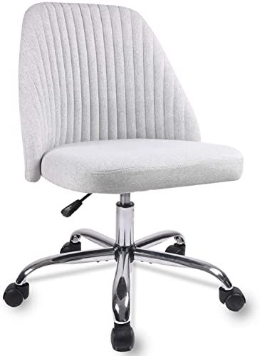 Amazing Offer On Homeoffice Chair Modern Twill Fabric Chair Adjustable Desk Chair Mid Back Task Chair Ergonomic Executive Chair Grey Online Wouldtopshopping In 2020 Home Office Chairs Office Chair Chair Fabric