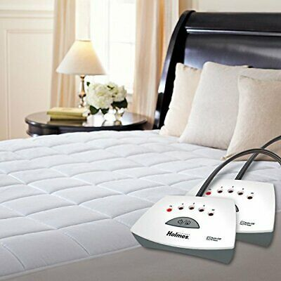 Premium Quilted Electric Heated Mattress Pad Queen Size Queen Ebay In 2020 Heated Mattress Pad Electric Mattress Pad Mattress Pad