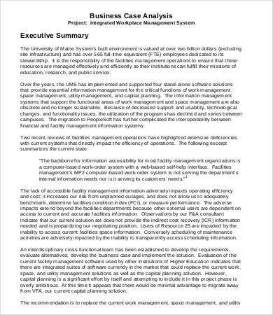 Executive Summary Templates 11 Free Ms Word Ppt Pdf