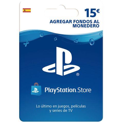 Tarjeta Prepago Psn De 15 Euros En 2020 Playstation Play