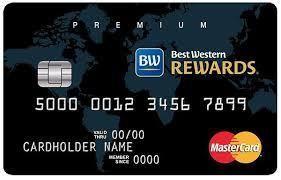 Best Western Rewards Premium Mastercard Credit Card First