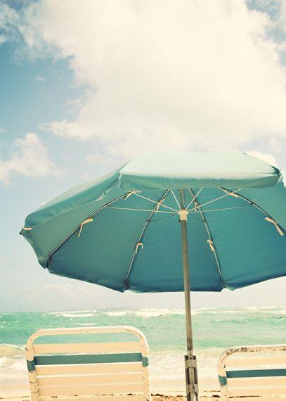 Mint Pinterest Beach Umbrella Ocean Photography And