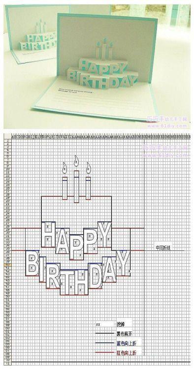 Birthday Quotes Happy Birthday Quotes Videoswatsapp Com Happy Birthday Happy Birthday Wishes Happy Birthday Quotes H Pop Up Cards Kirigami Paper Pop