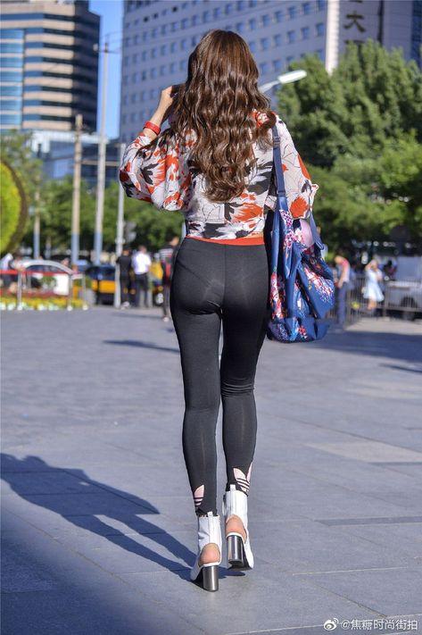 Girl's tight yoga pants - Fashion, Beauty, Glamor, Dressing, Trend, Str ...