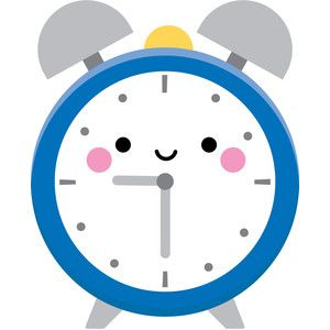 10+ Clock With Days Clipart