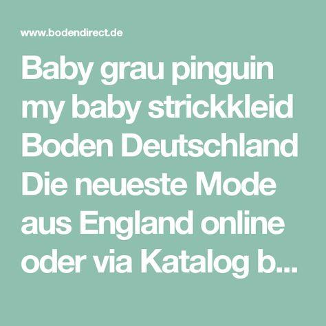 473228b9d21a47 Baby grau pinguin my baby strickkleid Boden Deutschland Die neueste Mode  aus England online oder via Katalog bestellen