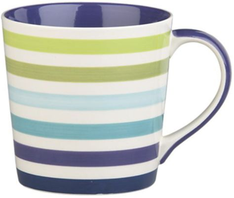 Crate And Barrel Stripes Mug Blue Bloods For Home Pinterest Crates Barrels Kitchen Stuff