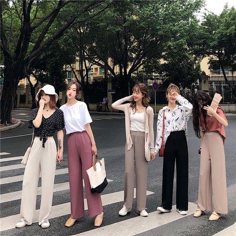 [Korean Style] Lothe Comfy Wide Leg Pants