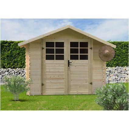 Abri De Jardin Solid P88902 Bois 4 79 M Shed Outdoor