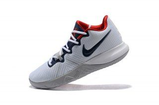Elegant Graceful Nike Kyrie Flytrap White University Red Black Cool Grey  AA7071 102 Kyrie Irving Men s Basketball Shoes 52d03eec3