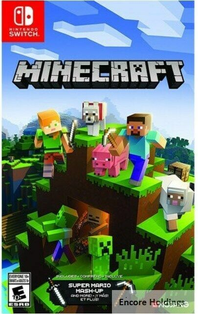 Nintendo Hacpaeuca Minecraft Nintendo Switch Minecraft Playing