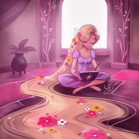 Disney Princess Rapunzel #disneyprincess Disney Princess Rapunzel