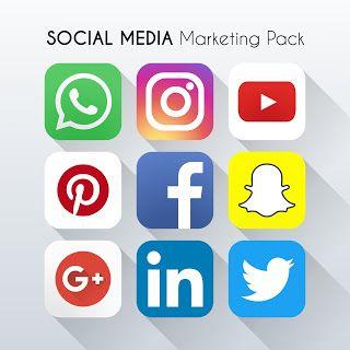 ايقونات مواقع التواصل الاجتماعي201social Media Icons نقدم لكم حزمة فاخرة من الايقونات ال Social Media Icons Vector Social Media Icons Social Media Logos