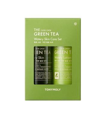 The Chok Chok Green Tea Skincare Duo Set Skincare Set Skin Care Tony Moly