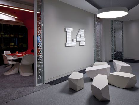 google office in uk. Futuristic Office, Google Engineering HQ By PENSON, London, UK, Interior Design Office In Uk :