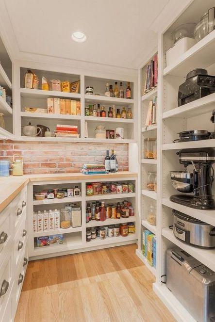 Trendy Kitchen Pantry Plans Interior Design Ideas Kitchen With