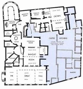Scottish Highland Castle House Plans Castle Floor Plan Castle House Plans Castle Layout