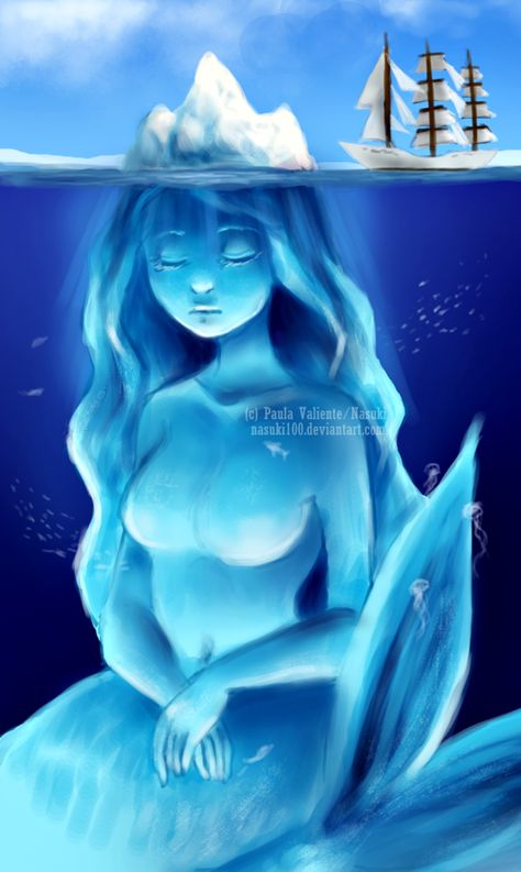 Colossal Queen Mermaid by Nasuki100 on DeviantArt