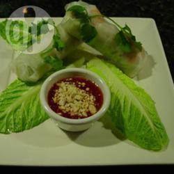 Rouleaux de printemps thaïlandais au porc et aux crevettes