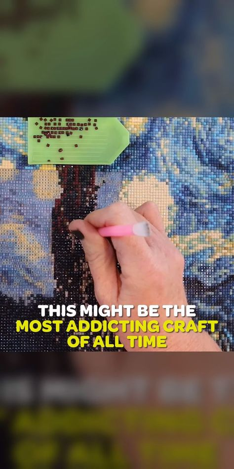 GemPaint: The addictive craft kits on the pl / #addictive #craft #diytodowhenboredcrafts #GemPaint #kits