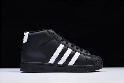 adidas superstar pro model black