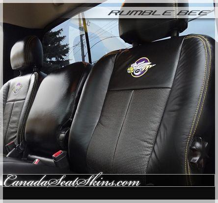 2004 - 2005 Dodge Ram Rumble Bee Leather Package | Leather seat, Vinyl  trim, LeatherPinterest
