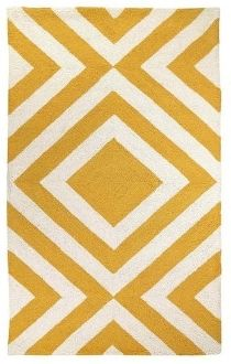 Dynamic Design - Merced Trina Turk Yellow Rug at skyiris.com