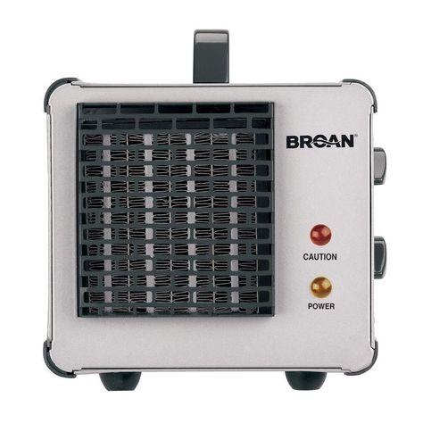 Big Heat Heater Broan-NuTone 6201