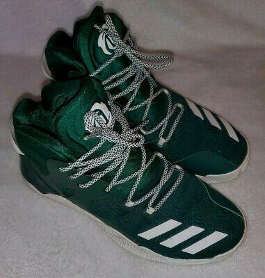 Advertisement Ebay Adidas D Rose 7 Boost Men S Basketball Shoes Green White Size 10 Basketball Shoes Mens Basketball D Rose 7