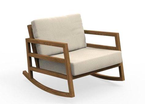 Rocking Chair De Jardin Design Haut De Gamme Chez Ksl Living En 2020 Rocking Chair Fauteuil Design Fauteuil Jardin
