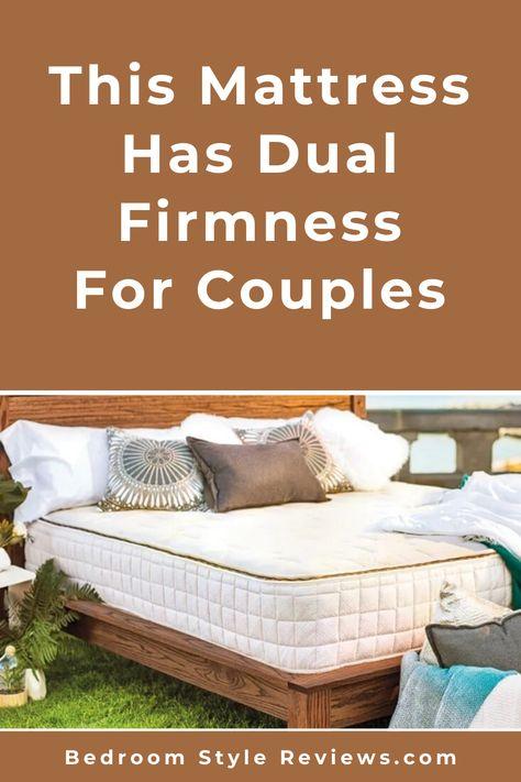 Naturepedic Eos Classic Split Firmness For Couples No Fiberglass Best Mattress Mattress Bedroom Styles