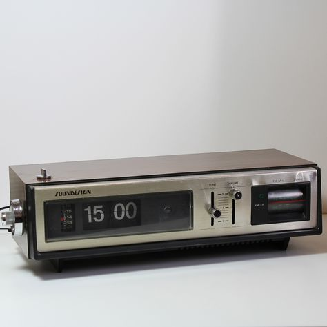 radio reveil à lamelles schneider soundesign 3475 vintage / stereofieldsforever