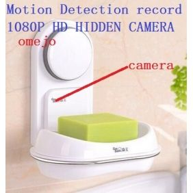1080p Hd Motion Detection Soap Box Pinhole Camera Hidden Bathroom