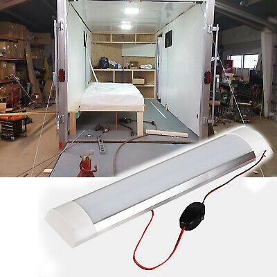 Details About 15 X 3 15 Boat Rv Interior Led Ceiling Light Fixture With Switch 12v 1500lm In 2020 Led Ceiling Light Fixtures Rv Interior Led Ceiling Lights