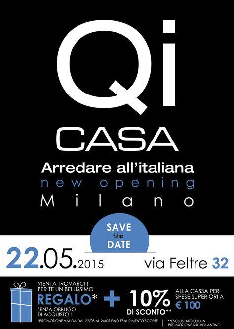 Qi casa apre anche a Milano, via feltre 32 data 2205 Nuovi
