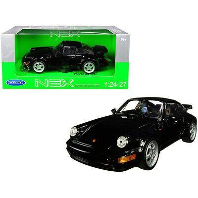 Porsche 964 Turbo Black 1 24 1 27 Diecast Model Car By Welly Car Model Porsche 964 Porsche