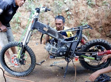 Satu Hal Tepat Jika Para Pecinta Trail Memodifikasi Motor Nya
