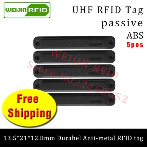 Back To Search Resultssecurity & Protection Access Control Nice Uhf Rfid Metal Tag 915mhz 868mhz Epc H3 13.5*21*12.8mm 5pcs Free Shipping Durable Abs Storing Cage Smart Card Passive Rfid Tags
