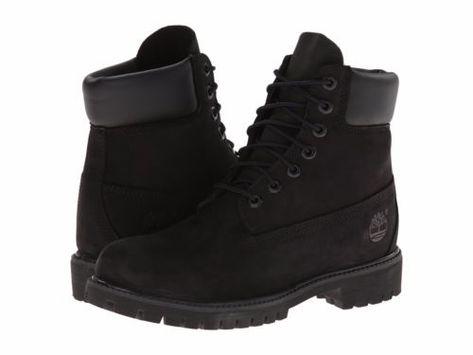 e46988ffa349f  Women-039-s- Shoe- Timberland-6-Inch-Premium- Waterproof-Lace-Up- Boots-  Black-8658A-New