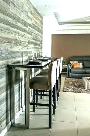 Breakfast Bar Against Wall Google Search Kitchen Bar Table