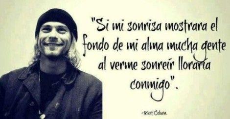Frases De Canciones Tristes De Amor Sonrisa Frases Kurt