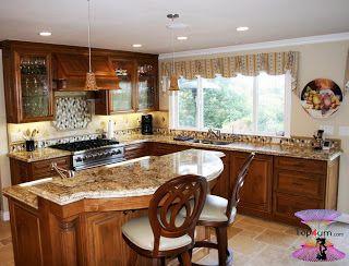 احدث موديلات مطابخ صغيرة مودرن 2020 Beautiful And Modern Kitchens Kitchen Remodel Design Modern Kitchen Interiors Modern Kitchen Island Design